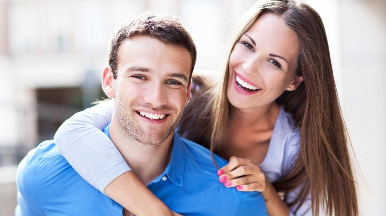 Young Smiling Couple | Phinney Ridge Dental